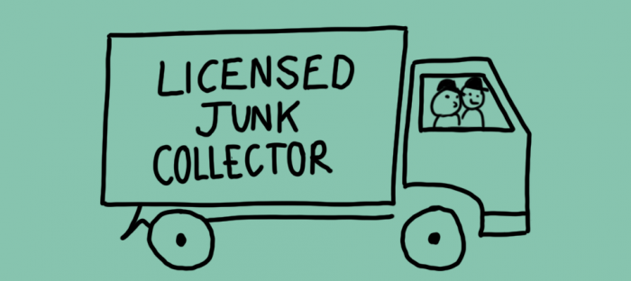 become a licensed junk collector