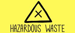 hazardous waste how to dispose lovejunk