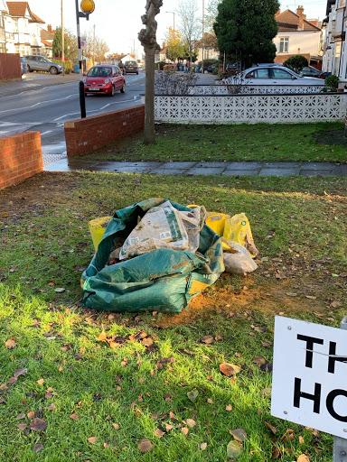 Clear rubble - £45, VAT - yes