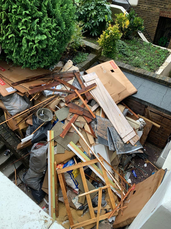 Wood & refurbishment £280 vat no
