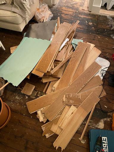 Wood rubble - £50, VAT - no