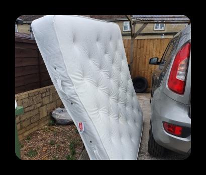 double mattress disposal £25 vat no
