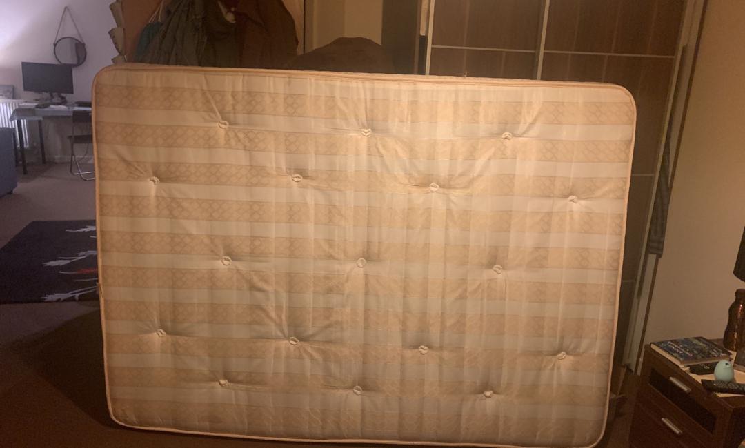 mattress disposal double mattress £25 vat yes