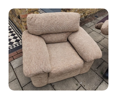 small armchair £35 vat no (2)