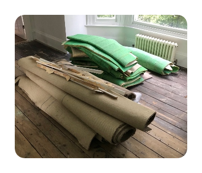 carpet and underlay disposal