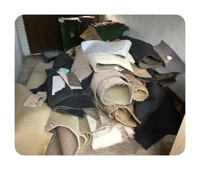 old carpet and underlay 60sqm £80 resized and rounded
