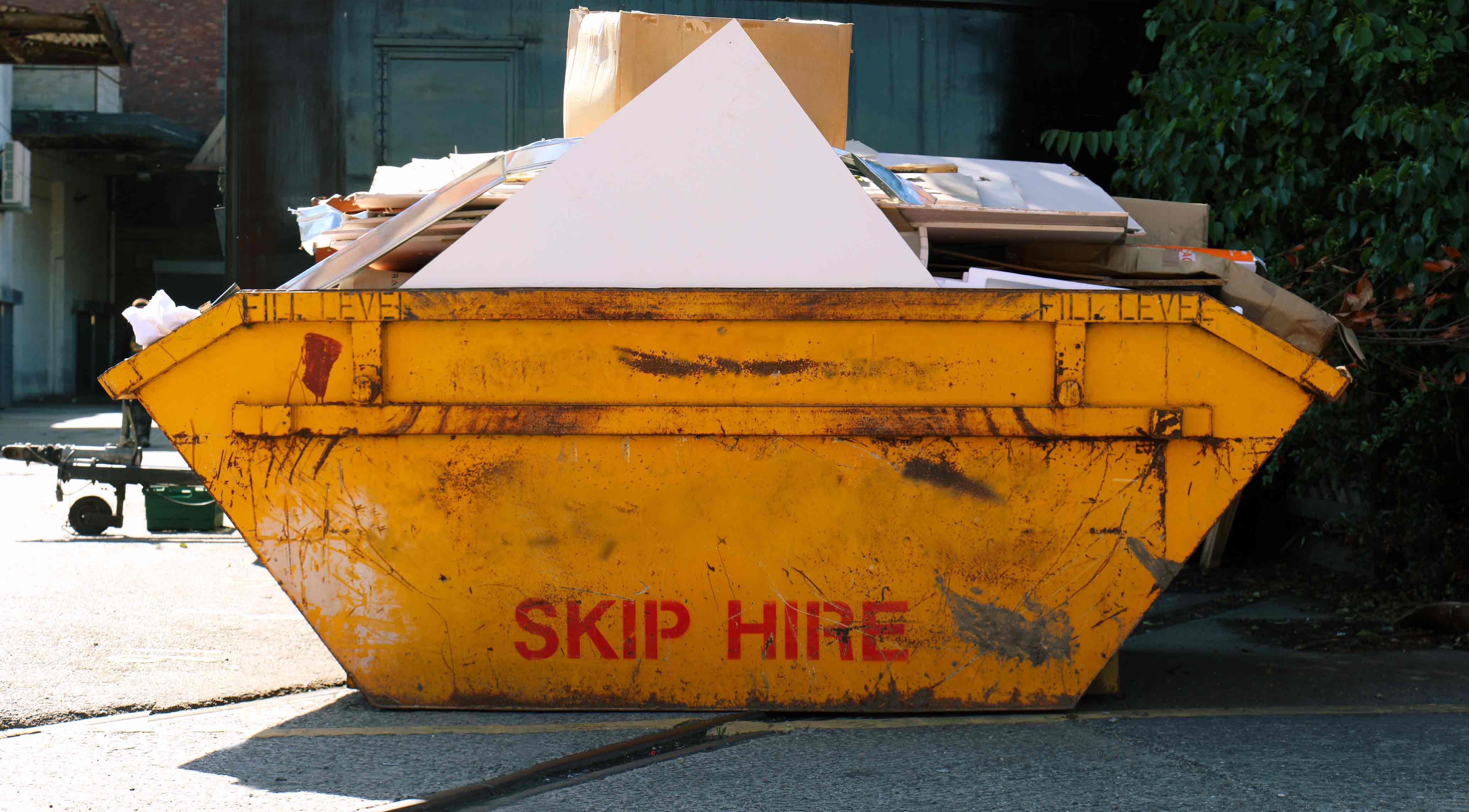 picture of skip for hire