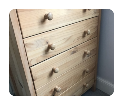 chest of drawers rubbish