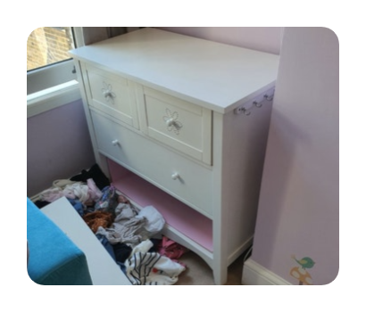 chest of drawers for disposal £35