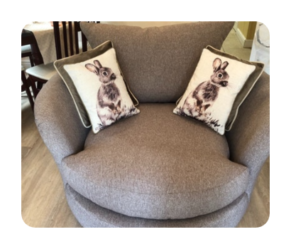 cuddle chair £50 for collection and disposal