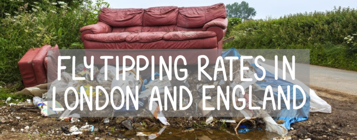 flytipping rates in london and england maps