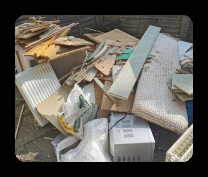 floorboards and diy waste £120