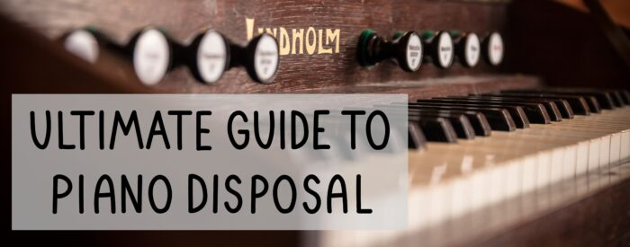 old piano disposal