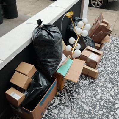 cardboard removal